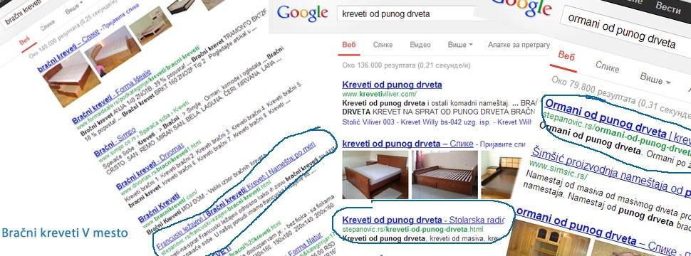 Optimizacija sajta za pretraživače