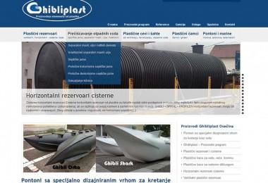 Optimizacija sajta i izrada sajta Ghibliplast