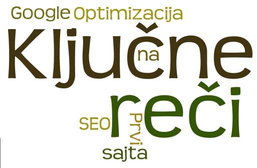Ključne reči i izbor domena