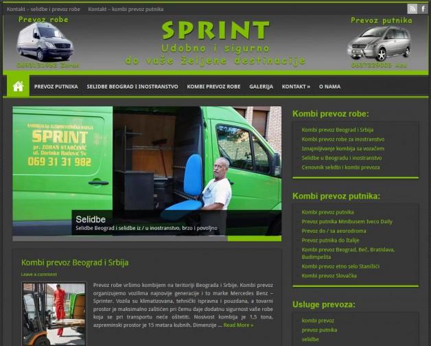 Seo optimizacija i izrada sajta za kombi prevoz