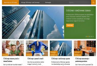 Agencija za čišćenje – izrada i optimizacija sajta