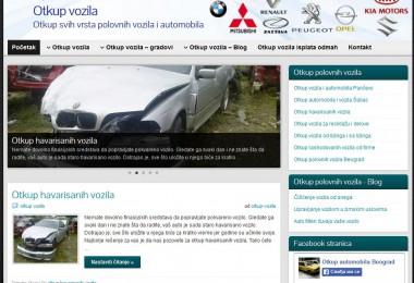 Seo i izrada sajta – otkup polovnih vozila