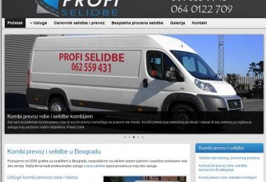 Izrada i optimizacija sajta – selidbe Beograd
