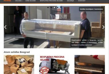 Selidbe – izrada sajta i optimizacija sajta