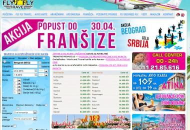 Avio karte – optimizacija sajta