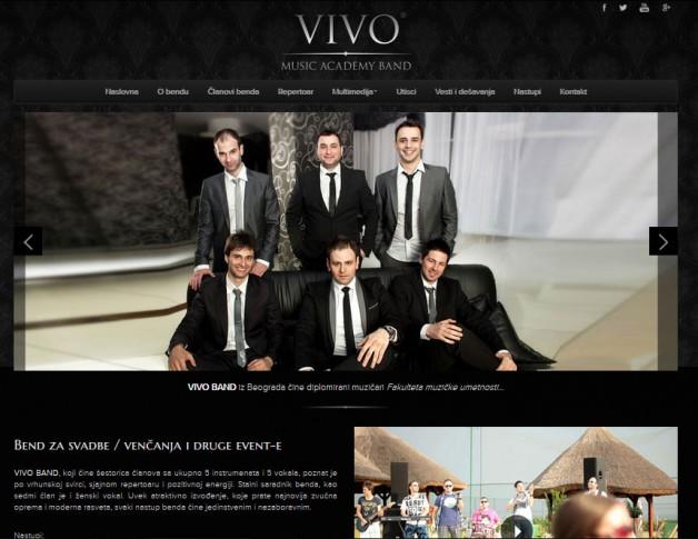 Bend za svadbe optimizacija sajta